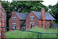 SK3614 : Packington Hall farmhouse by Oliver Mills