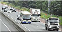 J2967 : Enniskillen express, M1, Ballyskeagh (June 2016) by Albert Bridge