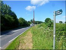 SO7334 : A417 near Bromesberrow Heath by Jonathan Billinger