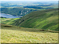 NY4615 : Slopes of valley of Measand Beck by Trevor Littlewood
