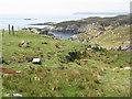NG2394 : Coast at Ceann a Bhàigh by M J Richardson