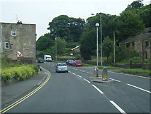 SD9321 : A6033 Rochdale Road heading west by Colin Pyle