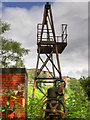 SD7910 : Old Sluice Gate Machinery, Cromptons  Lodge by David Dixon