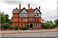 SJ8198 : The Working Class Movement Library, Salford Crescent by David Dixon
