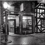SJ8298 : The Blue Lion Tavern, Lark Hill Place by David Dixon