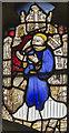 TG1124 : Detail of window s.VI, Ss Peter & Paul church, Salle by J.Hannan-Briggs