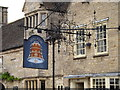 TL1689 : The Bell Inn Public House sign by Adrian Cable