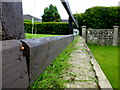 H4672 : Garden fence, Knockgreenan, Omagh by Kenneth  Allen