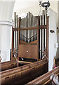TG1022 : Organ, St Mary's church, Reepham by Julian P Guffogg