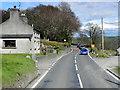 SN6180 : House on the A44 near to Llanbadarn Fawr by David Dixon