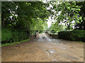 TL8978 : Entrance to Euston Hall by Geographer