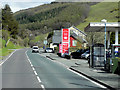 SN6580 : Petrol Station on the A44 near to Capel Bangor by David Dixon