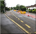 ST3092 : Bus stop and shelter, Newport Road, Llantarnam, Cwmbran by Jaggery