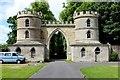 NT7854 : Gatehouse to Duns Castle by Chris Heaton