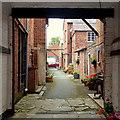 SO5968 : Alleyway off Teme Street by Jonathan Billinger