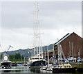 NS2975 : Super yachts at James Watt Dock Marina by Thomas Nugent