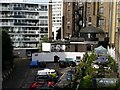 TQ2680 : Elms Mews from Room 466 of the Corus Hotel, Lancaster Gate by Rich Tea