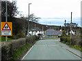 SN9583 : Llanidloes, Llangurig Road by David Dixon
