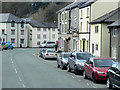 SN9584 : Llanidloes, Smithfield Street by David Dixon