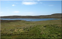 HU5180 : The Loch of Kettlester, near Burravoe on Yell by David Purchase