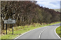 SN9176 : The A470 at the Border of Radnorshire by David Dixon
