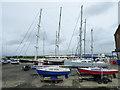 NS2975 : Yachts at James Watt Dock by Thomas Nugent
