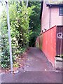 SZ0691 : Westbourne: footpath A02 from Surrey Road by Chris Downer
