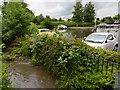 TQ5257 : Flooding at Otford by Marathon
