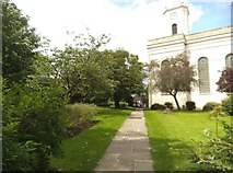 SO9496 : Church Path by Gordon Griffiths