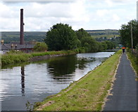 SD8432 : Leeds and Liverpool Canal in Burnley by Mat Fascione