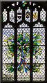 TG0719 : Stained glass window, St Mary's church, Sparham by Julian P Guffogg