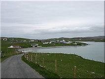 HU3631 : Duncansclett village, West Burra by David Purchase