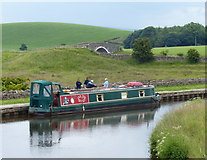 SD8948 : Narrowboat moored on the Leeds and Liverpool Canal by Mat Fascione
