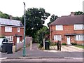 SZ0696 : Kinson: footpath E24 from Wakely Road by Chris Downer