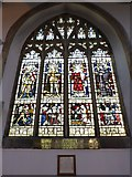 TL1998 : St John the Baptist, Peterborough: stained glass window (iii) by Basher Eyre