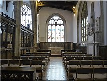 TL1998 : Inside St John the Baptist, Peterborough (ii) by Basher Eyre