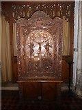 TL1998 : Inside St John the Baptist, Peterborough (v) by Basher Eyre
