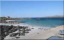 NM2824 : Baile Mor beach at Iona by Patrick Hamilton