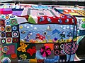 SE2933 : Knitted narrowboat detail by Rich Tea