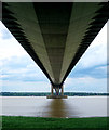 TA0223 : The Humber Bridge underside by Andy Stephenson