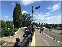 TL1998 : North from the Town Bridge, Peterborough by Robin Stott