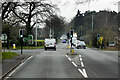 SJ5767 : Forest Road, Sandybrow Traffic Lights by David Dixon