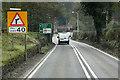 SJ5765 : A49 Cotebrook by David Dixon