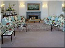 NT2677 : Royal Yacht Britannia State Drawing Room by Peter Evans