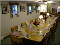 NT2677 : Royal Yacht Britannia Wardroom Dining Table by Peter Evans