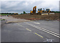 SD4964 : M6 Junction 34 slip road by Ian Taylor