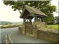 SE0729 : St John the Evangelist, Bradshaw - lych gate by Stephen Craven