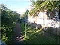 SZ0992 : Springbourne: footpath C22 to Ophir Gardens by Chris Downer
