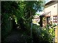 SZ0694 : Wallisdown: midway along footpath N02 by Chris Downer