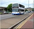 ST3188 : NAT double-decker bus in Crindau, Newport  by Jaggery
